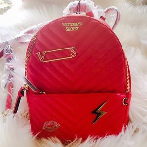 Victoria's Secret V-Quilt Small City Backpack